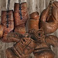 Boxing Gloves by Manfred Lutzius