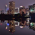 Austin Lights Up Lady Bird Lake by Frozen in Time Fine Art Photography