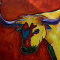 Austin Longhorn by Patti Schermerhorn