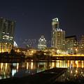 Austin Skyline by Jennifer Cannon