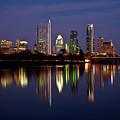 Austin Skyline by Mark Weaver