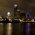 Austin Texas Skyline  by Anthony Totah