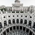Austin Texas - Bw State Capitol Architecture by Gregory Ballos