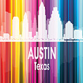 Austin Tx 2 Vertical by Angelina Tamez