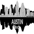 Austin Tx 4 Vertical by Angelina Tamez