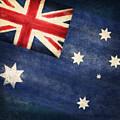 Australia  Flag by Setsiri Silapasuwanchai
