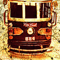 Australia Travel Tram Map by Jorgo Photography - Wall Art Gallery