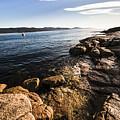 Australian Bay In Eastern Tasmania by Jorgo Photography - Wall Art Gallery