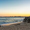 Australian Beach Sunset by Jukka Heinovirta