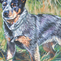 Australian Cattle Dog 1 by Lee Ann Shepard
