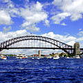 Australian Day Is A Party Day On Sydney Harbour  by Miroslava Jurcik