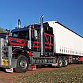 Australian Roadtrain by Christian Hallweger