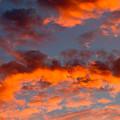 Australian Sunset by Louise Heusinkveld