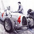 Auto Union C Type V16 B Rosenmeyer by Yuriy  Shevchuk