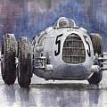 Auto-union Type C 1936 by Yuriy Shevchuk