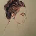 Autoportrait Maja Sokolowska by Maja Sokolowska