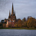 Autumn Lichfield Cathedral by Rawshutterbug