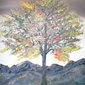 Autum Tree by Teresa Nash