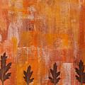 Autumn Abstract Art  by Kathleen Wong