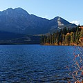 Autumn Afternoon On Pyramid Lake by Larry Ricker