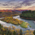 Autumn Along The Snake River by Leland D Howard