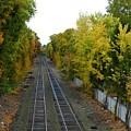 Autumn Along The Tracks by Gina Sullivan