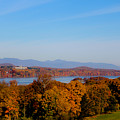 Autumn And The Hudson River by Victory  Designs