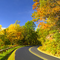 Autumn Appalachian Drive by Darrell Young