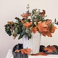 Autumn Arrangement by Kim Hojnacki