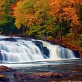 Autumn At Buttermilk Falls by Tony Beaver