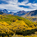 Autumn At Capitol Peak Colorado by Teri Virbickis