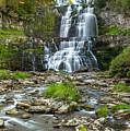 Autumn At Chittenango Falls by Karen Jorstad