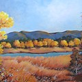 Autumn At Fraser Valley 2 by Marta Styk