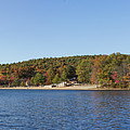 Autumn At Houghtons Pond Panorama by Brian MacLean