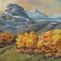 Autumn At Kananaskis by Marta Styk