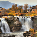 Autumn At Lundbreck Falls Provincial Park by Adam Jewell