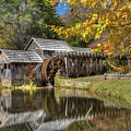 Autumn At Mabry Mill by Tom Weisbrook