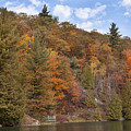 Autumn At Pink Lake by Eunice Gibb