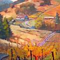 Autumn At Silvan Ridge by Margaret  Plumb