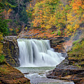 Autumn At The Lower Falls by Rick Berk
