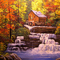 Autumn At The Mill by Connie Tom