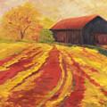 Autumn Barn by Amy Welborn