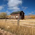 Autumn Barn by Joshua House
