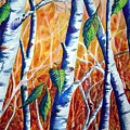 Autumn Birch by Joanne Smoley