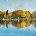 Autumn Blues by JGracey Stinson