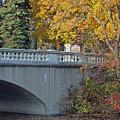 Autumn Bridge by Lisa Gabrius