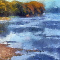 Autumn By The River by Thomas Woolworth