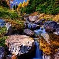 Autumn Cascade by DJ MacIsaac