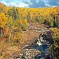 Autumn Color Along Beaver River by Panoramic Images
