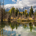 Autumn Day At Schwabacher's Landing by Yeates Photography